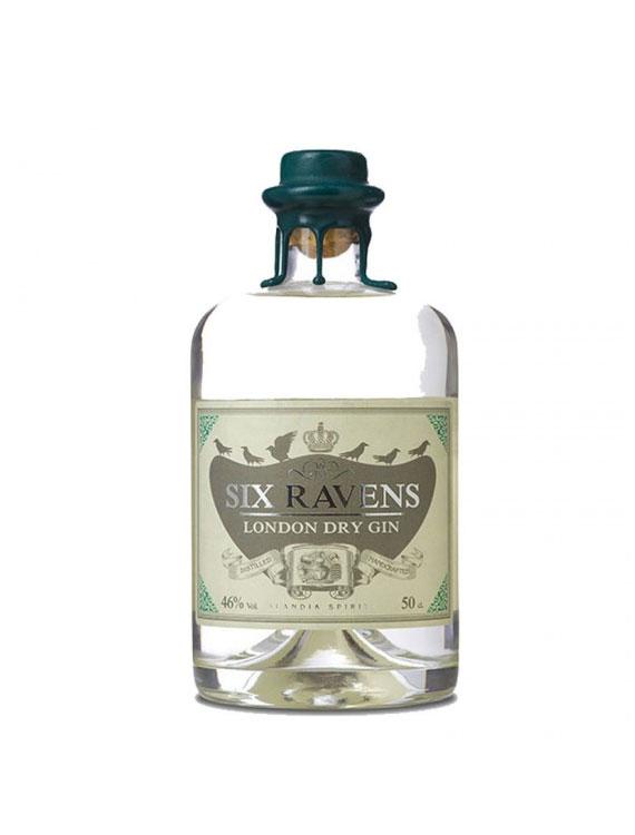 GIN-SIX-RAVENS-LONDON-DRY-50CL