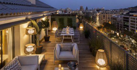 Majestic Royal Penthouse, la suite más grande de Barcelona