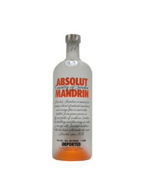 VODKA ABSOLUT MANDARINA
