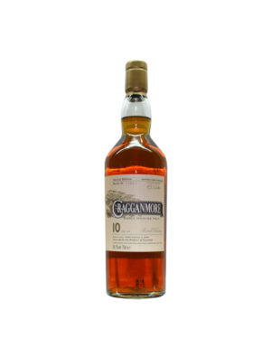 CRAGGANMORE 10 YEARS CASK STRENGHT