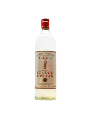 GIN JUDGES LONDON DRY