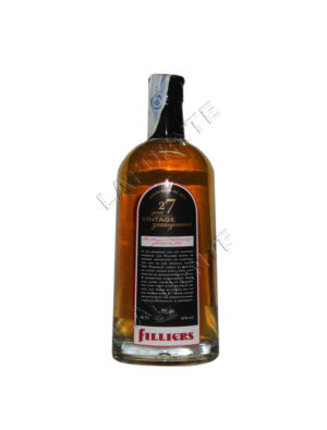 GIN FILLIERS 27 YEARS VINTAGE 1984
