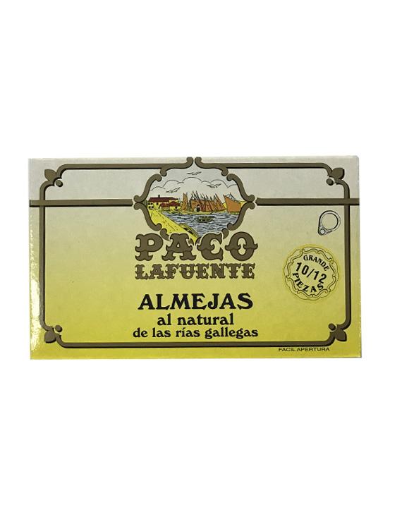 ALMEJAS AL NATURAL PACO LAFUENTE 10/12 GRANDE