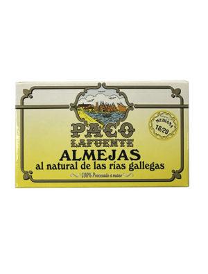 ALMEJAS AL NATURAL PACO LAFUENTE 14/16