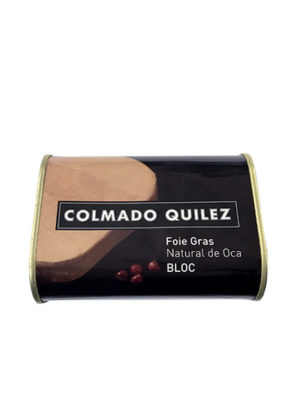FOIE GRAS OCA BLOC NATURAL QUILEZ 420G
