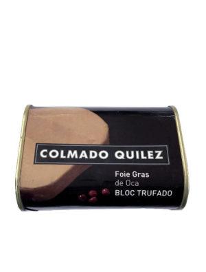FOIE GRAS OCA BLOC TRUFADO QUILEZ 420G