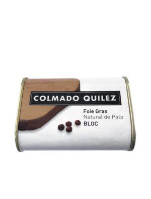 FOIE GRAS PATO BLOC NATURAL QUILEZ 420G