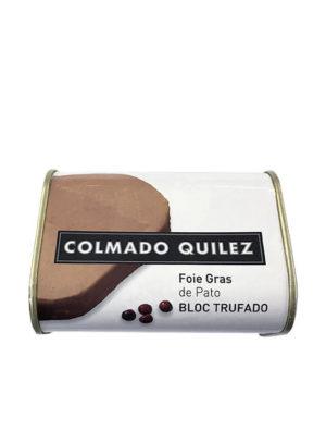 FOIE GRAS PATO BLOC TRUFADO QUILEZ 420G
