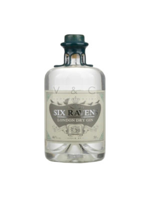 GIN SIX RAVENS LONDON DRY  50CL