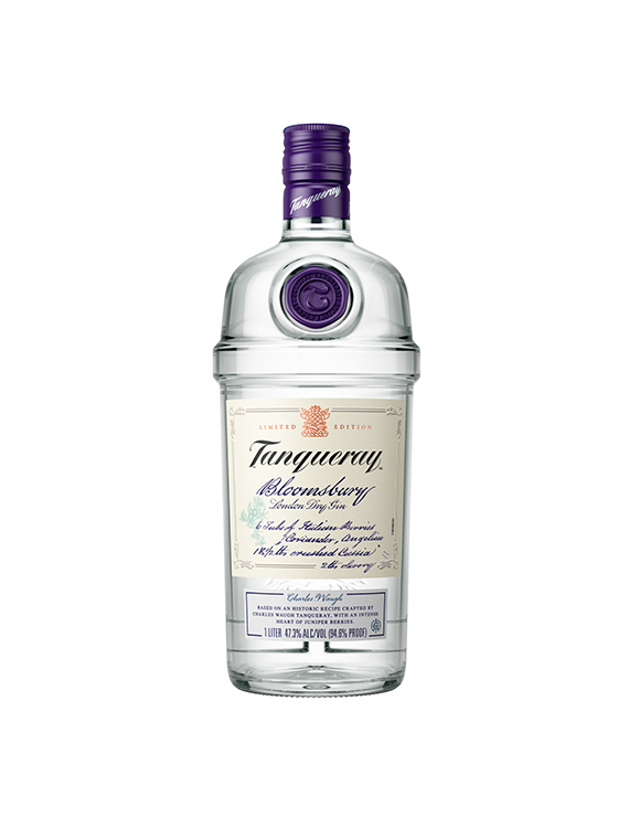 GIN TANQUERAY BLOOMSBURY