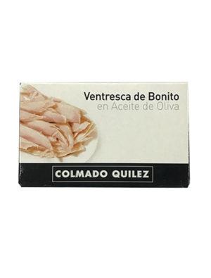 VENTRESCA DE BONITO EN ACEITE DE OLIVA QUILEZ