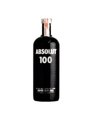 VODKA ABSOLUT 100 BLACK