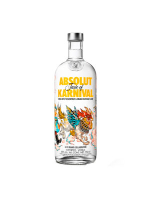 VODKA ABSOLUT KARNIVAL 1L