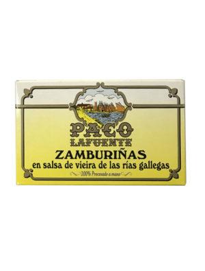 ZAMBURIÑAS EN SALSA DE VIEIRA PACO LAFUENTE