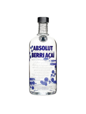 VODKA ABSOLUT BERRI AÇAI