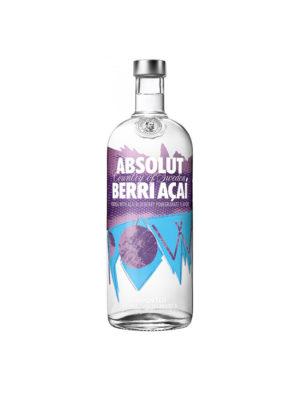 VODKA ABSOLUT BERRI AÇAI