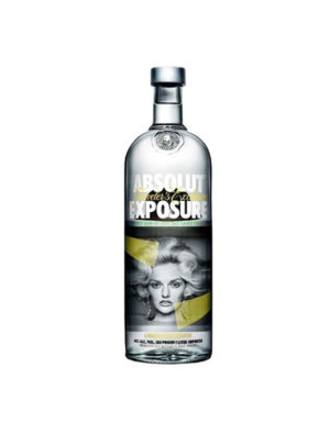 VODKA ABSOLUT EXPOSURE