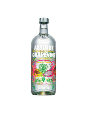 VODKA ABSOLUT GRAPEVINE