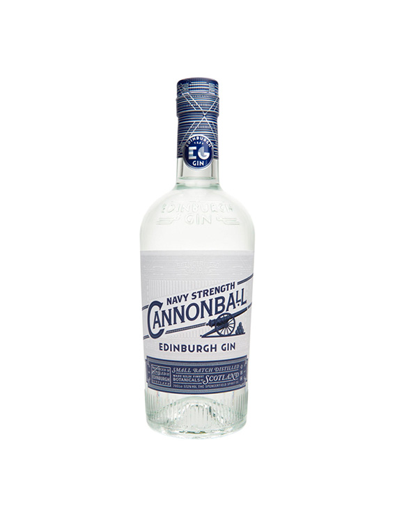 GIN CANNONBALL NAVY STRENGTH