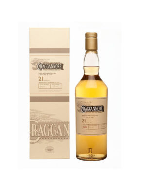 CRAGGANMORE 21 YEARS CASK STRENGTH