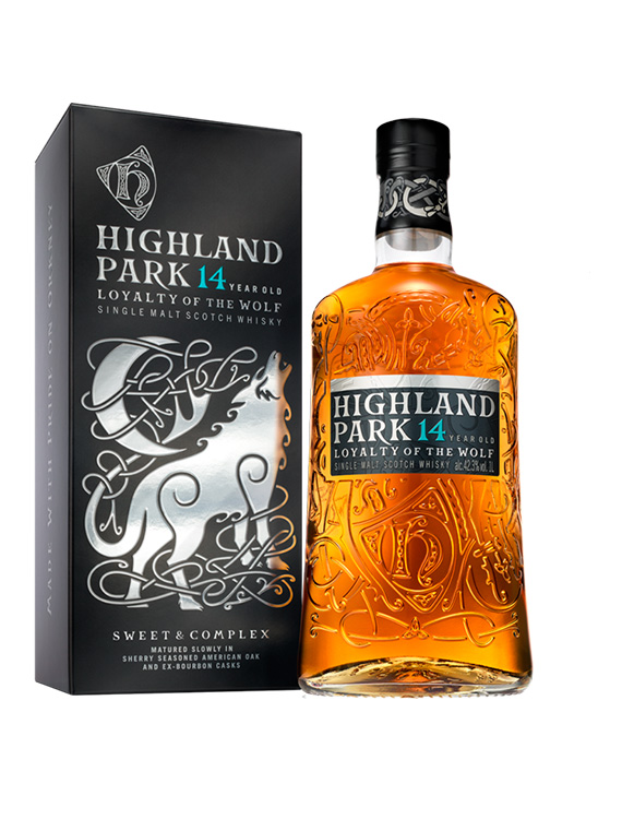 HIGHLAND PARK 14 YEARS-LOYALTY OF THE WOLF