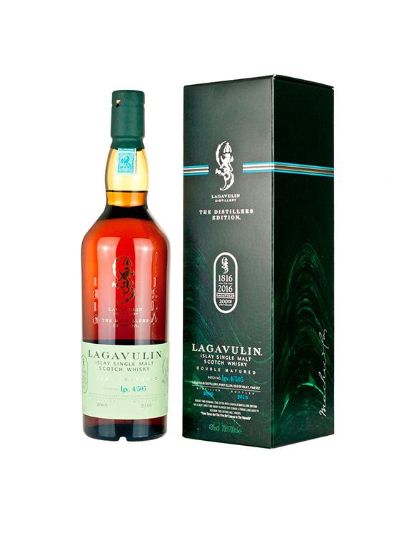 Ponte un Whisky Lagavulin-distillers