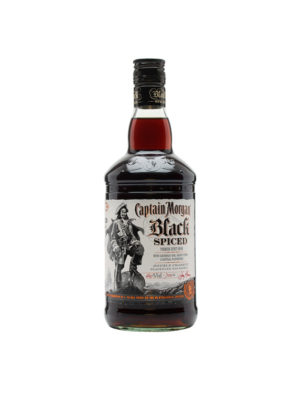 RON CAPTAIN MORGAN BLACK SPICED
