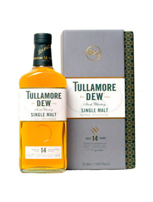 TULLAMORE DEW 14 YEARS SINGLE MALT