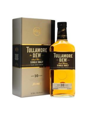 TULLAMORE DEW 10 YEARS SINGLE MALT