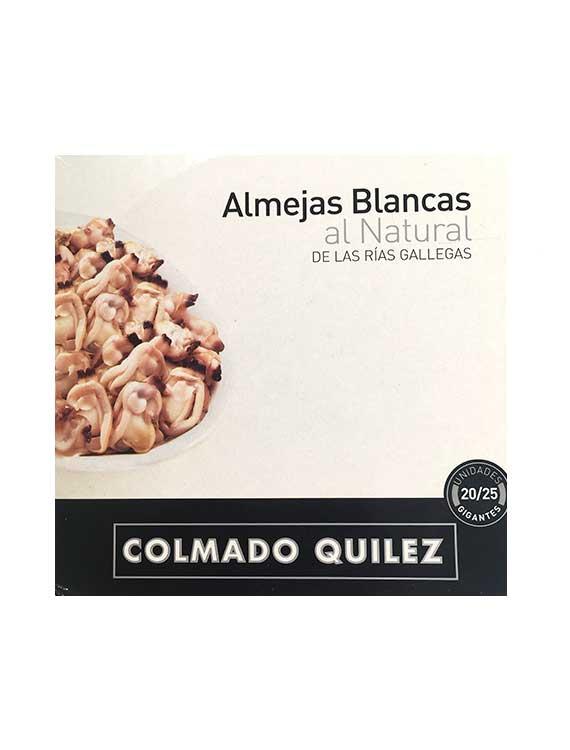 ALMEJAS BLANCAS AL NATURAL COLMADO QUILEZ 20