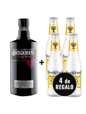 PACK-GIN-BROCKMANS-4-FEVER-TREE-INDIAN-TONIC-WATER-GRATIS