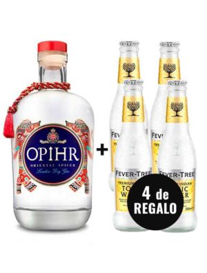 PACK-GIN-OPIHR-4-FEVER-TREE-INDIAN-TONIC-WATER-GRATIS