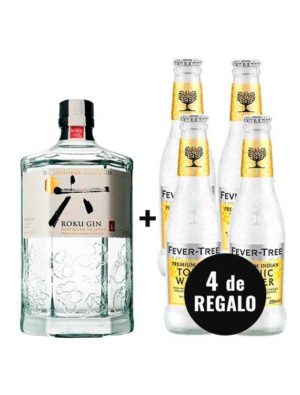 PACK-GIN-ROKU-4-FEVER-TREE-INDIAN-TONIC-WATER-GRATIS