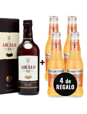 PACK-RON-ABUELO-2-4-ORANGE-FEVER-TREE-GRATIS