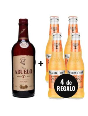 PACK-RON-ABUELO-4-ORANGE-FEVER-TREE-GRATIS