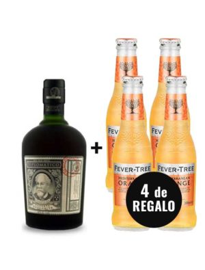 PACK-RON-DIPLOMATICO-4-ORANGE-FEVER-TREE-GRATIS