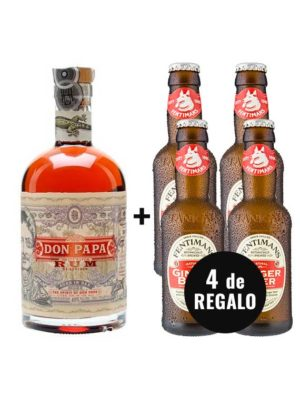 PACK-RON-DON-PAPA-4-FENTIMANS-GINGER-BEER-GRATIS
